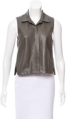 Bailey 44 Vegan Leather Sleeveless Top