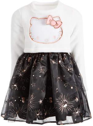 Hello Kitty Little Girls Fleece & Twinkle Star Dress