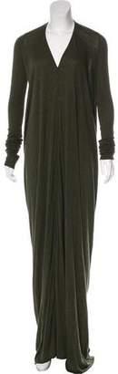 Rick Owens Lilies Jersey Maxi Dress