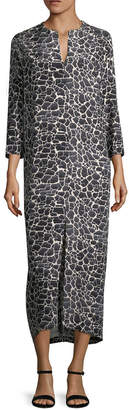 Zero Maria Cornejo Printed Shift Dress