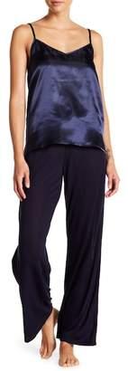 Maidenform Satin Cami & Pants Pajama Set