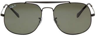 Ray-Ban Black General Aviator Sunglasses