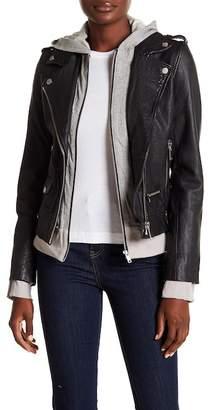 Doma Biker Jacket with Detachable Hood