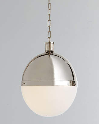 Thomas O'Brien TOB by Hicks 2-Light Extra-Large Polished-Nickel Pendant