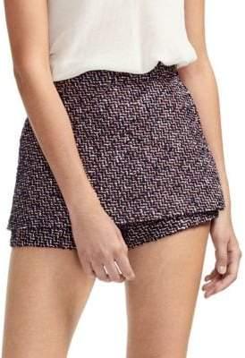 Maje Tweed Shorts
