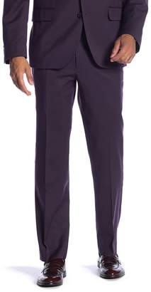 "Co SAVILE ROW New Heathrow Purple Modern Fit Gab Pants - 30-34"" Inseam"