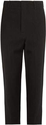 Vince Wool-blend tapered trousers