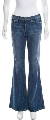Current/Elliott Mid-Rise Flare Jeans