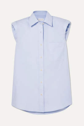 Dries Van Noten Cotton-poplin Shirt - Blue