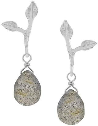 Wouters & Hendrix My Favourites labradorite stone earrings