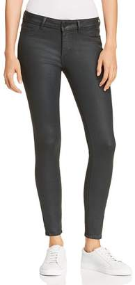 DL1961 Emma Coated Skinny Jeans in Ivy
