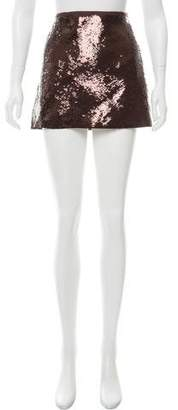 Theory Embellished Mini Skirt w/ Tags