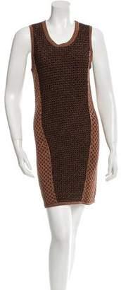 Rag & Bone Sleeveless Metallic Dress