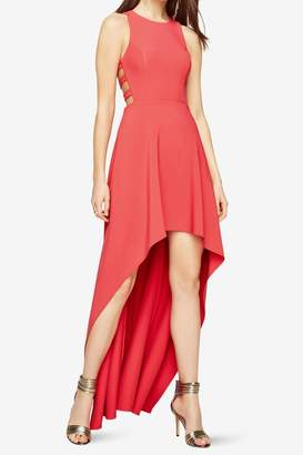 BCBGMAXAZRIA Cutout High Low Dress