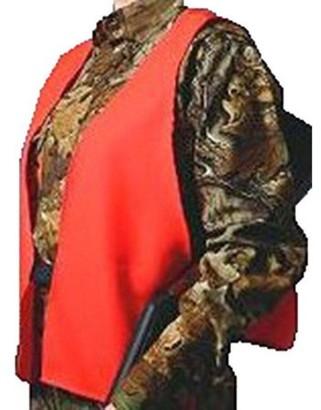 Hunter's Specialties Hunters Specialties Super Quiet Safety Vest, Orange, One Size Fits All Neoprene