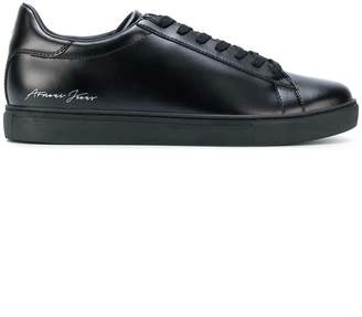 Armani Jeans low top lace-up sneakers