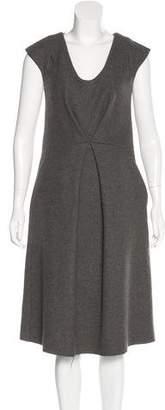 Marc Jacobs Bead-Embellished Midi Dress
