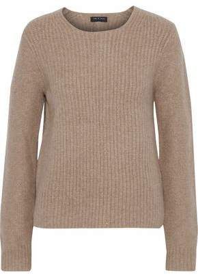 Rag & Bone Mélange Ribbed Merino Wool Sweater