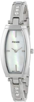 Pulsar Women's PM2055 Analog Display Japanese Quartz Silver Watch