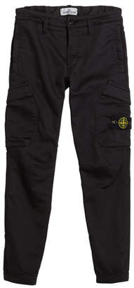 Stone Island Straight Leg Cargo Pants, Size 2-6
