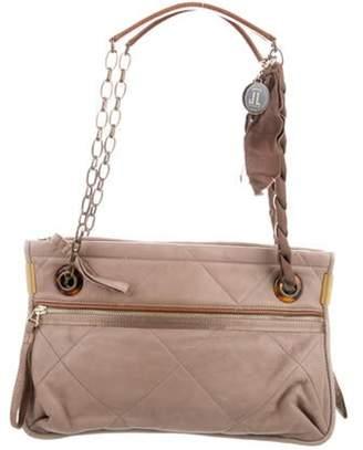 Lanvin Leather Amalia Shoulder Bag Tan Leather Amalia Shoulder Bag