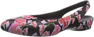 Crocs Women's Eve Graphic Sling W Ballet Flat