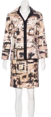 Yansi Fugel Printed Skirt Set