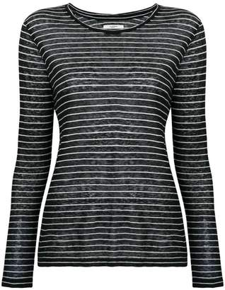 Etoile Isabel Marant long sleeved striped top