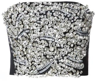 Vera Wang embellished strapless top $1,850 thestylecure.com