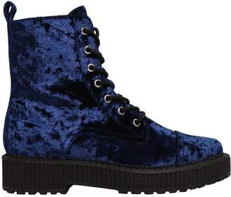 Katy Perry 30mm Gia Crushed Velvet Boots