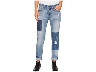 Rock and Roll Cowgirl Boyfriend Skinny in Light Vintage W2S4610 Women's Jeans