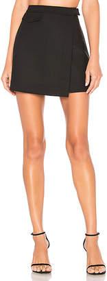 Theory Canton Snap Mini Skirt