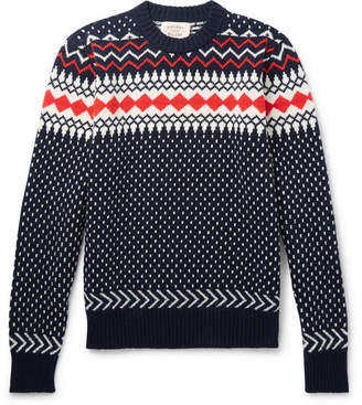 Holiday Boileau Fair Isle Virgin Wool Sweater