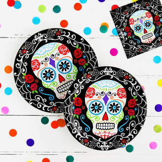 DAY Birger et Mikkelsen Postbox Party Halloween Of The Dead Party Plates