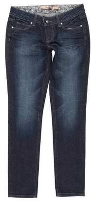 Paige Denim Skyline Low-Rise Jeans w/ Tags