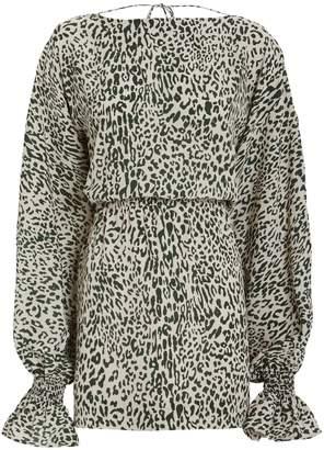 Baum und Pferdgarten Aemiley Leopard Print Dress