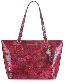 Brahmin Medium Melbourne Asher Leather Tote Bag