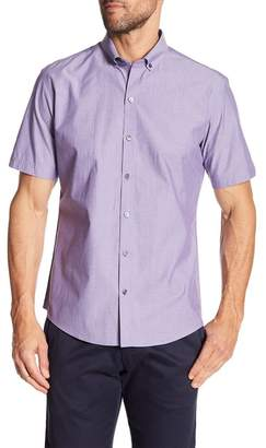 Zachary Prell Olson Short Sleeve Modern Slim Fit Shirt