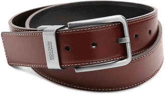 Kenneth Cole Reaction Oiled Leather Belt - Men's