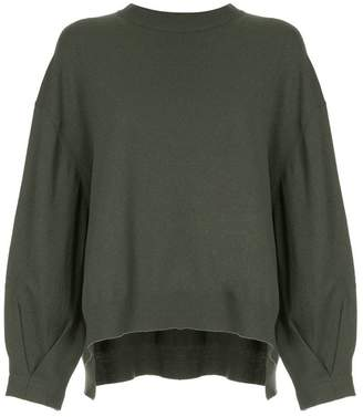 TOMORROWLAND high low hem jumper