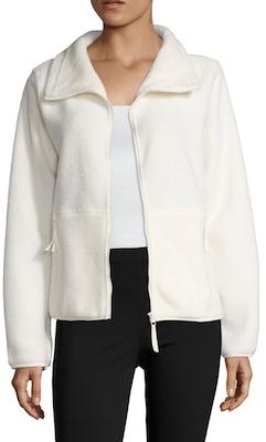 Sherpa Polar Fleece Jacket $68 thestylecure.com