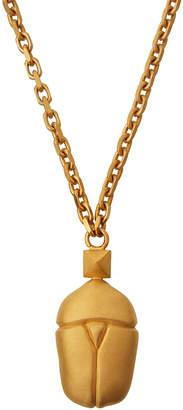 Valentino Long Scarab Beetle Pendant Necklace