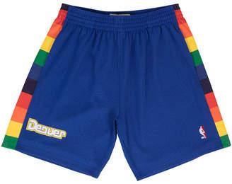 Mitchell & Ness Men's Denver Nuggets Swingman Shorts