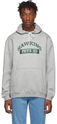 Nike Grey Stranger Things Edition Hawkins High Hoodie
