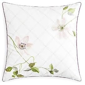 Clematis Decorative Pillow, 18 x 18