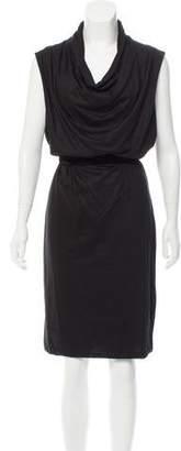 Bottega Veneta Cashmere Cowl Neck Dress w/ Tags