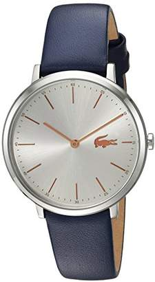 Lacoste Women's 'Moon' Quartz Stainless Steel and Leather Casual Watch