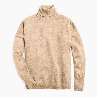 J.Crew Merino wool turtleneck sweater with side slits
