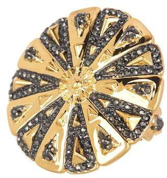 House Of Harlow Ornamental Medallion Ring - Size 6