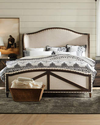 Hooker Furniture Analy Upholstered California King Bed